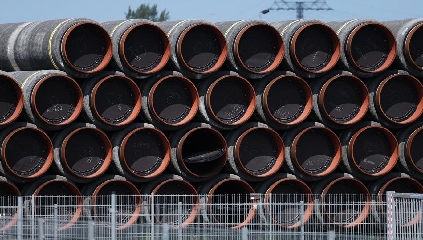 Nord Stream 2 pogarsza bezpieczeństwo regionu (fot. Sean Gallup/Getty Images)