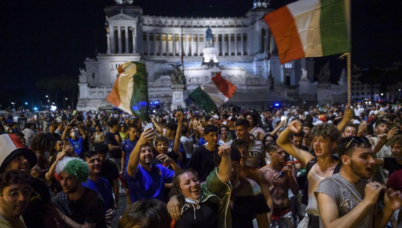 Kibice reprezentacji Włoch (fot. Getty)