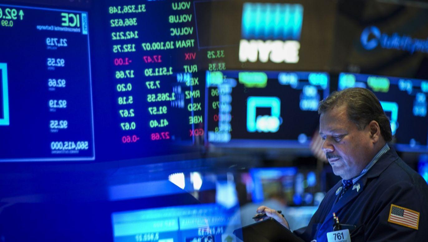 Główne indeksy amerykańskich giełd na zamknięciu środowej sesji wzrosły (fot. Drew Angerer/Getty Images)
