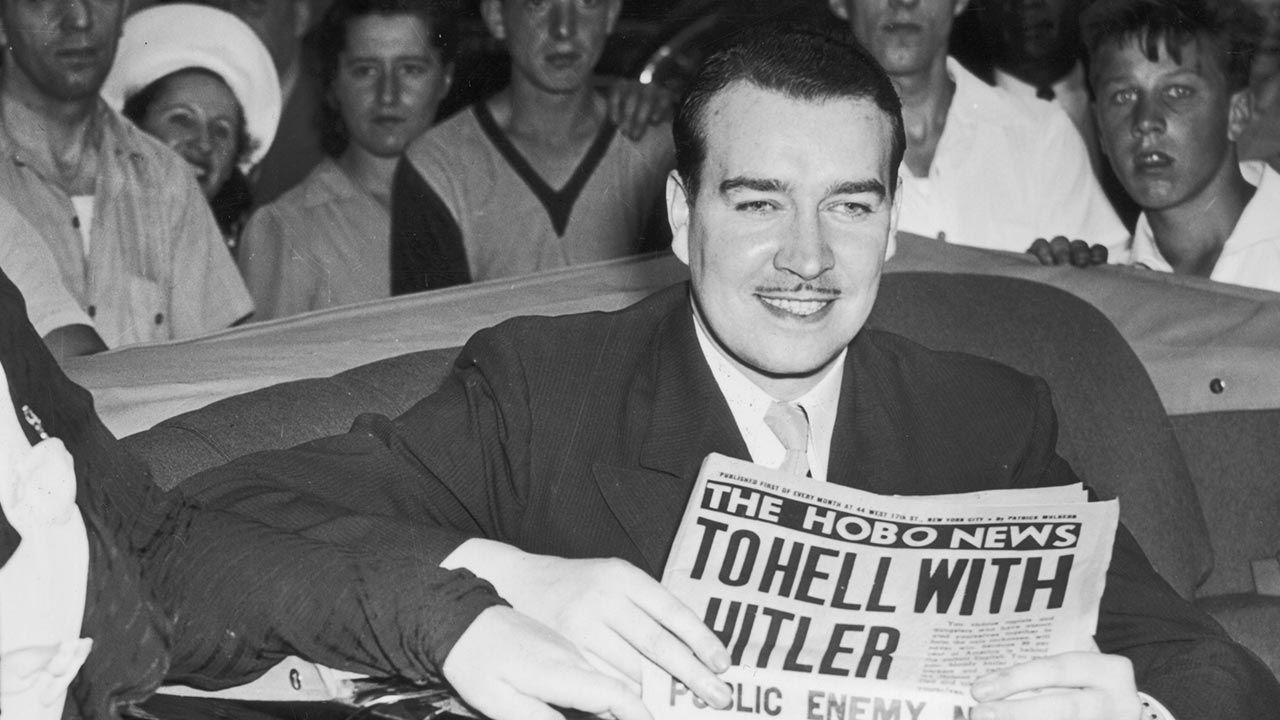 Willy Hitler próbował odegrać się na stryju (fot. Keystone/Getty Images)
