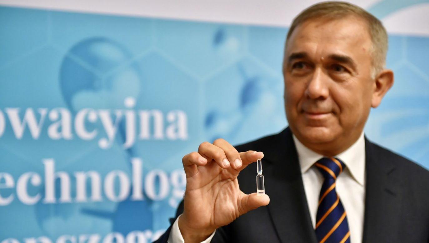 Senator Grzegorz Czelej (fot. arch.PAP/Wojtek Jargiło)