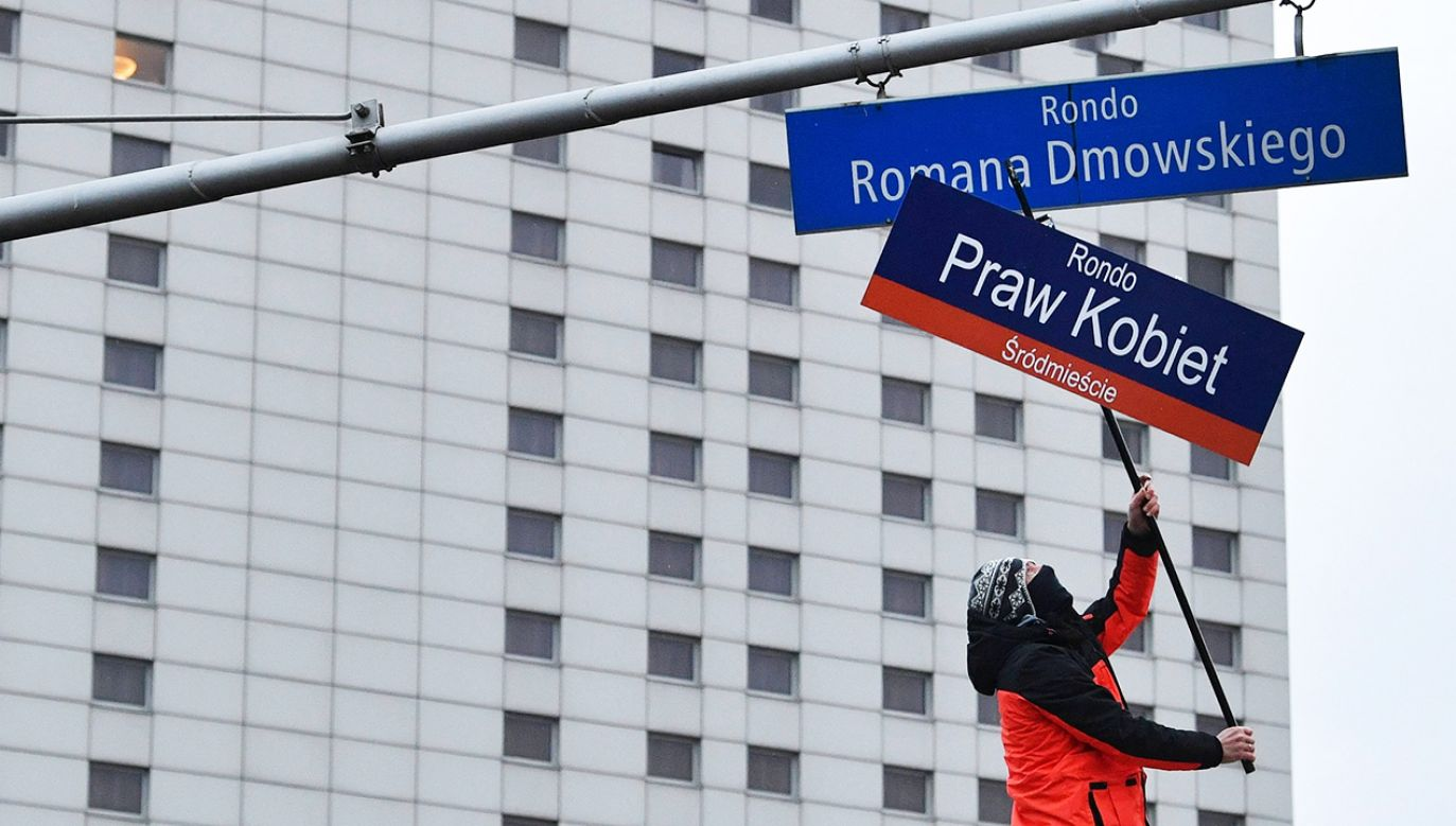 Po Marszu Niepodległości Rada Warszawy zajmie się zmianą nazwy (fot. arch,PAP/R.Pietruszka)