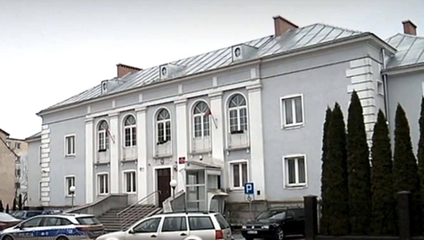 Sąd Rejonowy w Nidzicy (fot. TVP)