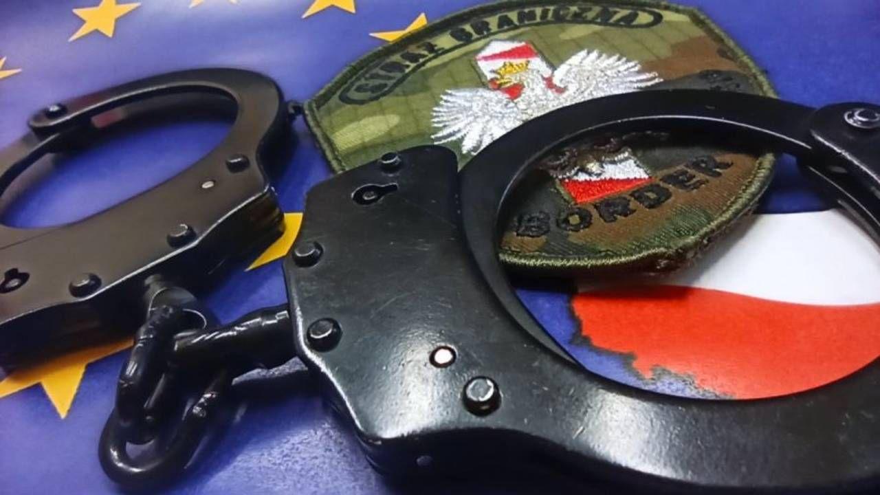 Zatrzymanemu grożą trzy lata więzienia (fot. Straż Graniczna)