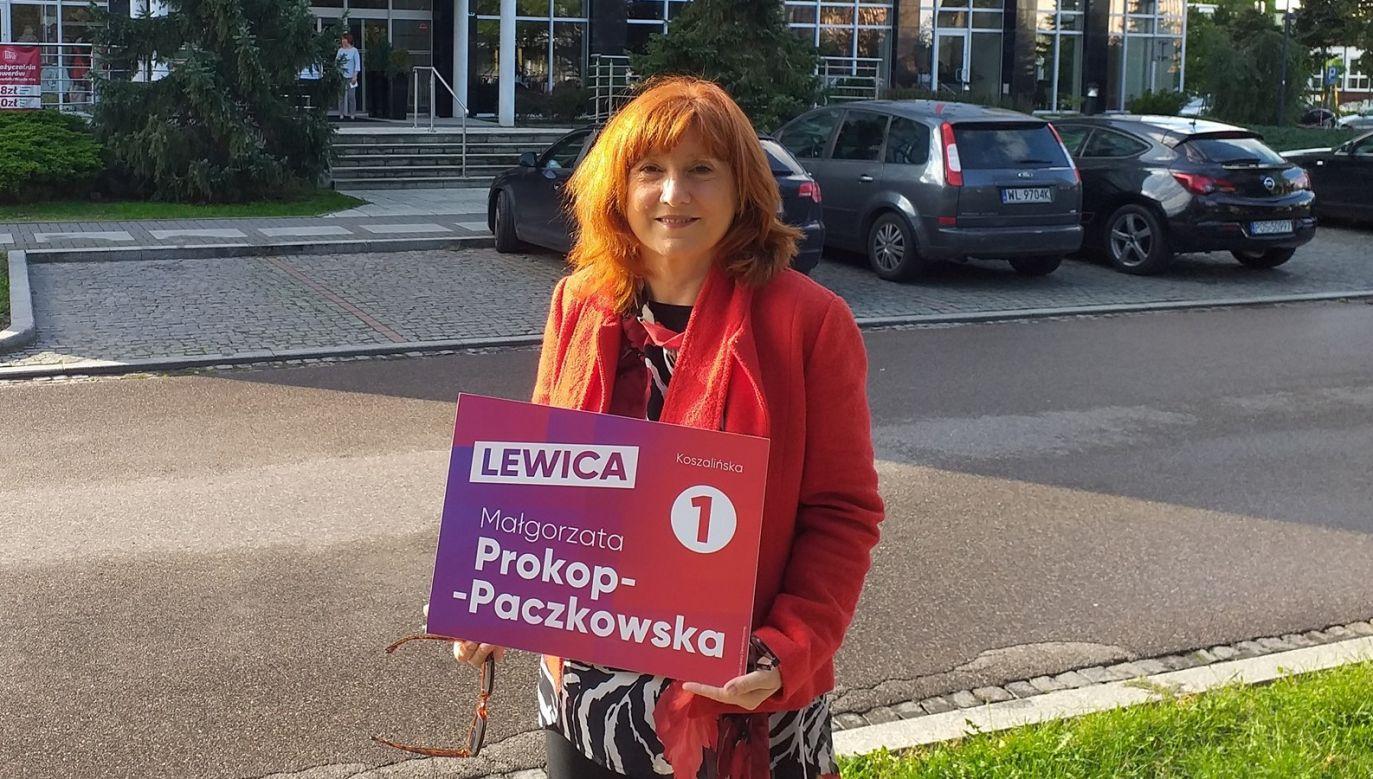 """Małgorzata Prokop-Paczkowska uważa, że """"Polacy cieszyli się, gdy Hitler mordował Żydów, potem wyrywali im zęby"""" (fot. Facebook/Małgorzata Prokop-Paczkowska)"""