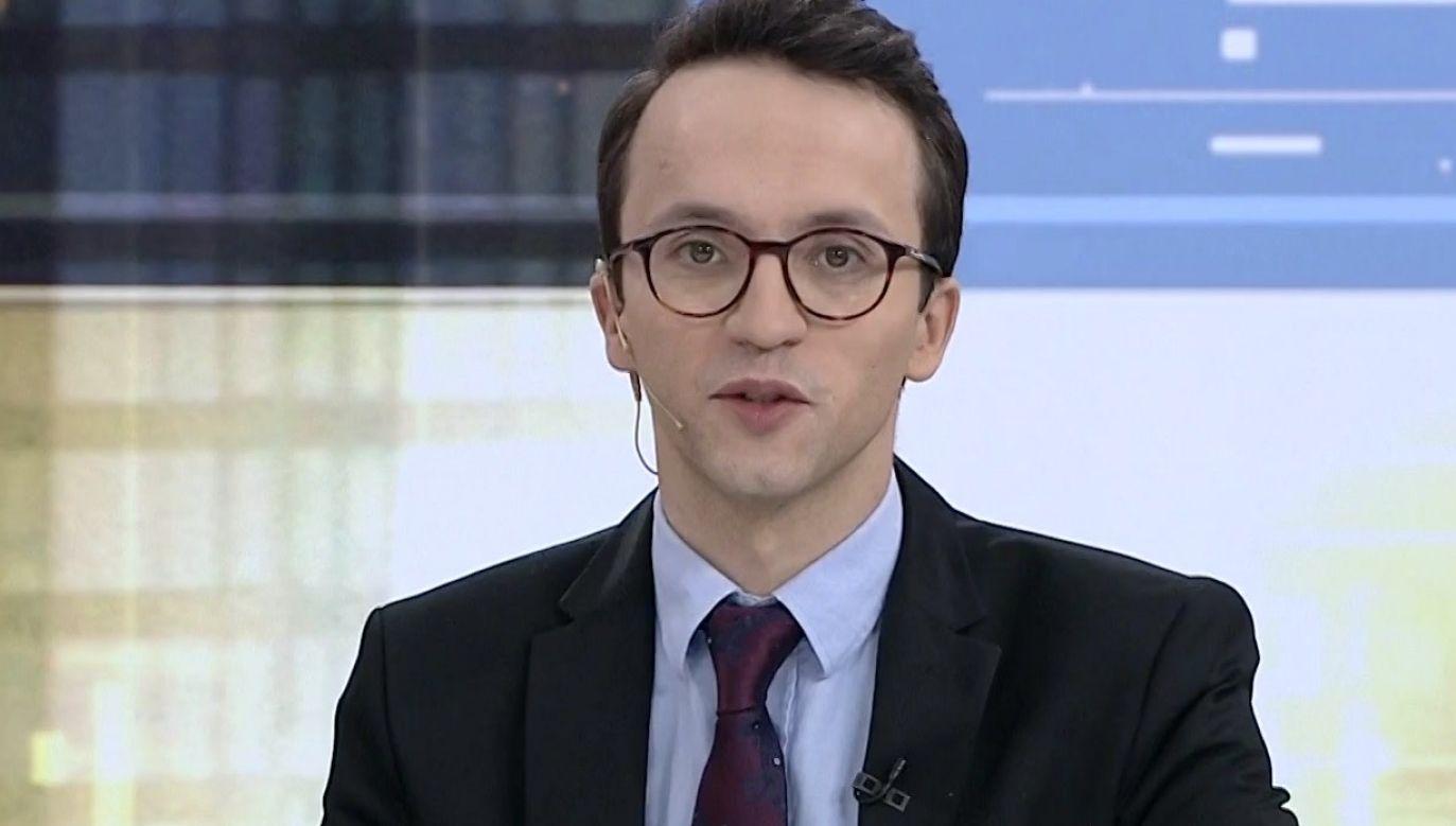 Samuel Pereira (fot. TVP Info)