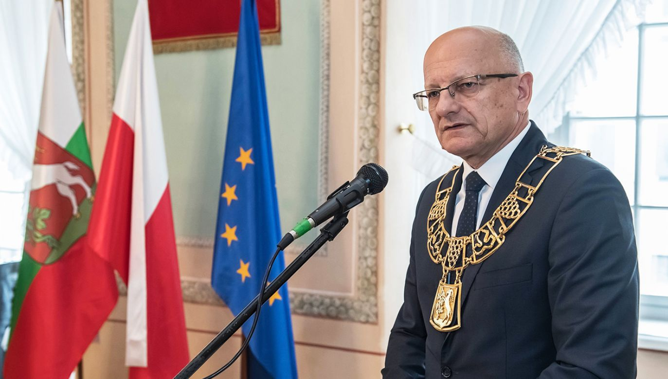 Prezydent Lublina Krzysztof Żuk (fot. arch.  PAP/Wojciech Pacewicz)