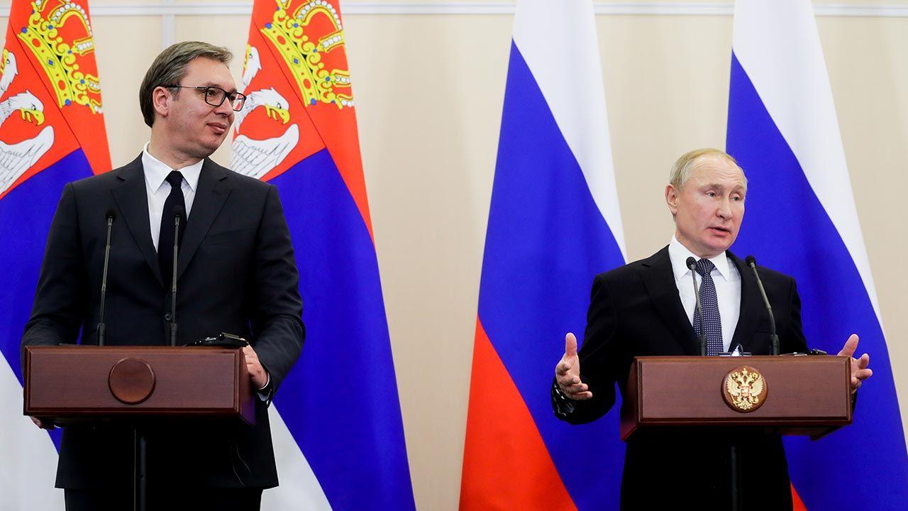 Rosja i Chiny uważają Serbię za swojego głównego sojusznika na Bałkanach (fot. Mikhail Metzel\TASS via Getty Images)