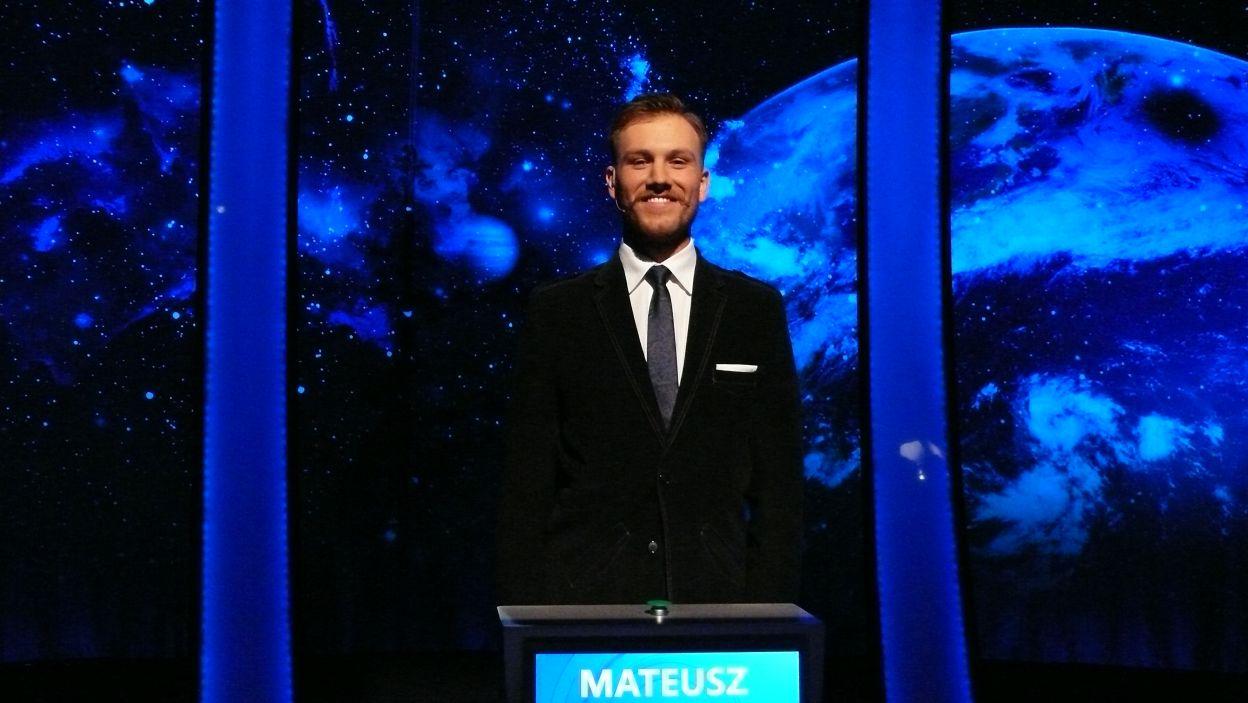 Mateusz Haberek - zwycięzca 10 odcinka 115 edycji