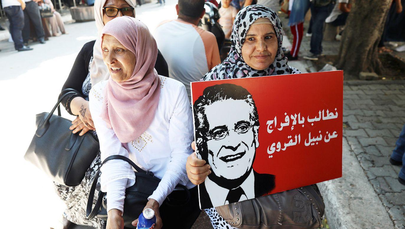 Jeżeli sondaże się potwierdzą to Tunezję czeka wstrząs.(fot. PAP/EPA/MOHAMED MESSARA)