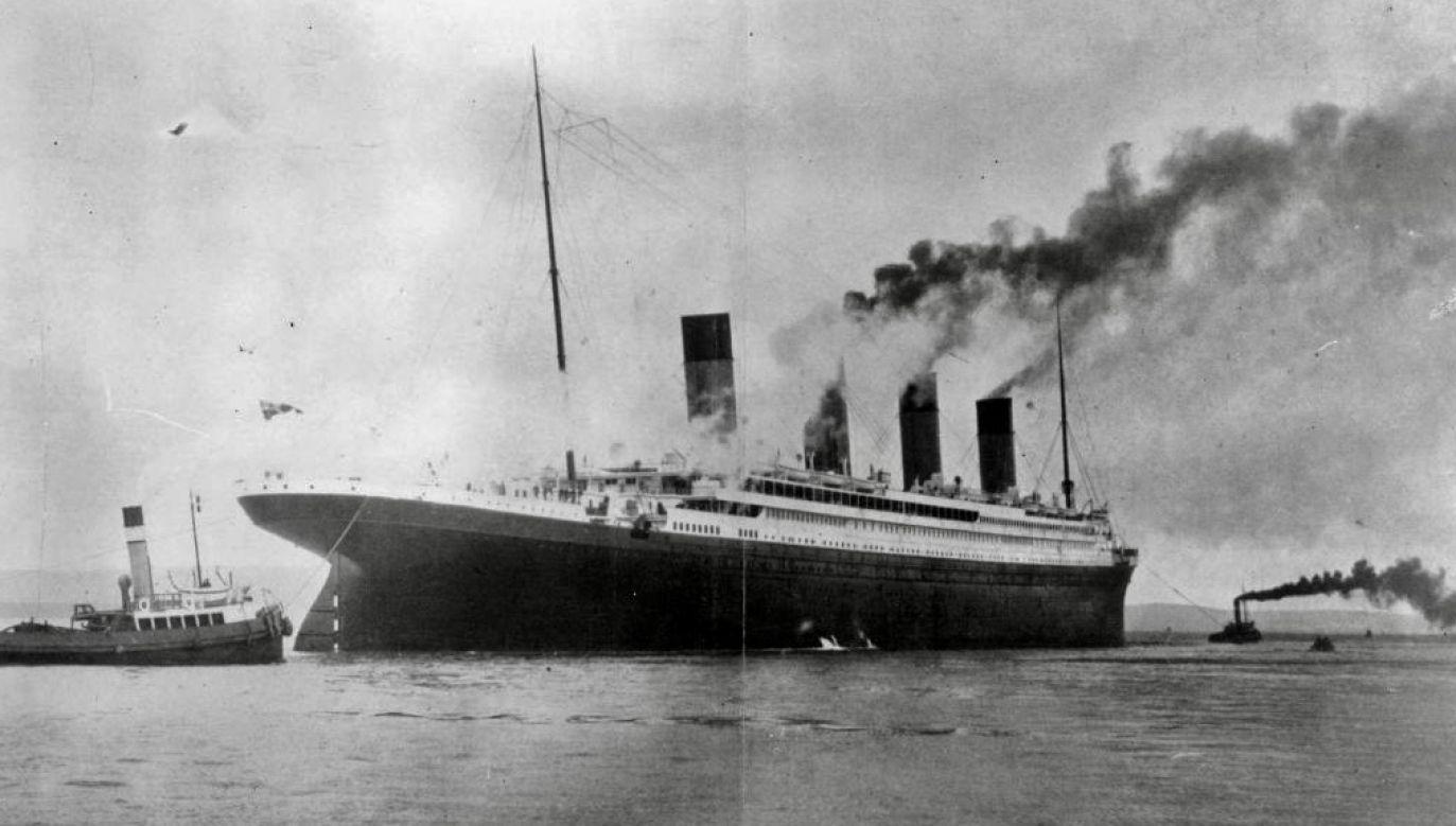 Transatlantyk zatonął we wczesnych godzinach porannych 15 kwietnia 1912 roku (fot. Topical Press Agency/Getty Images)