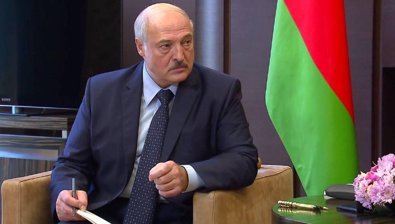 Prezydent Białorusi Alaksandr Łukaszenka ogranicza wolność mediów (fot. Kremlin.ru)