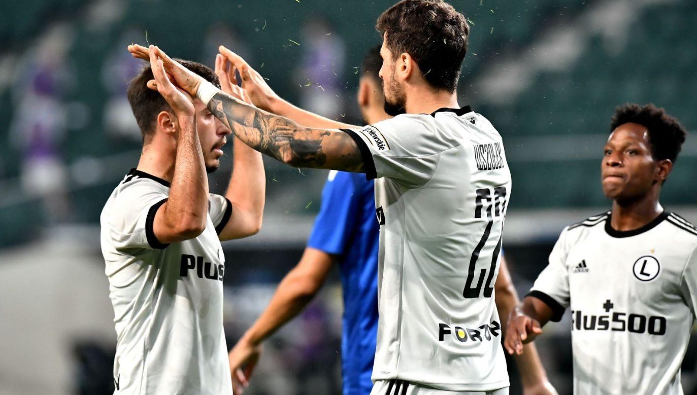 Po wygranych Legii Warszawa i Lecha Poznań Polska awansowała w klubowym rankingu UEFA (fot. PAP/Andrzej Lange)