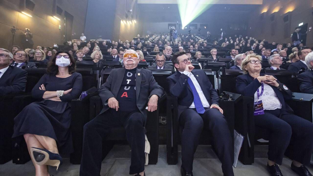 Na gali sędziów obecni byli politycy (fot. PAP/Piotr Wittman)