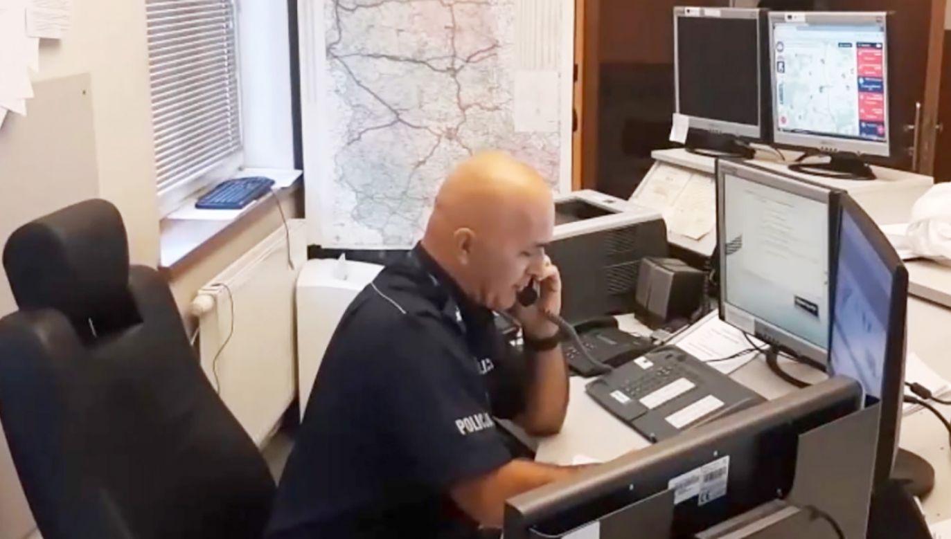 W takich przypadkach najlepiej poinformować o podejrzanym telefonie kogoś bliskiego (fot. policja.pl)