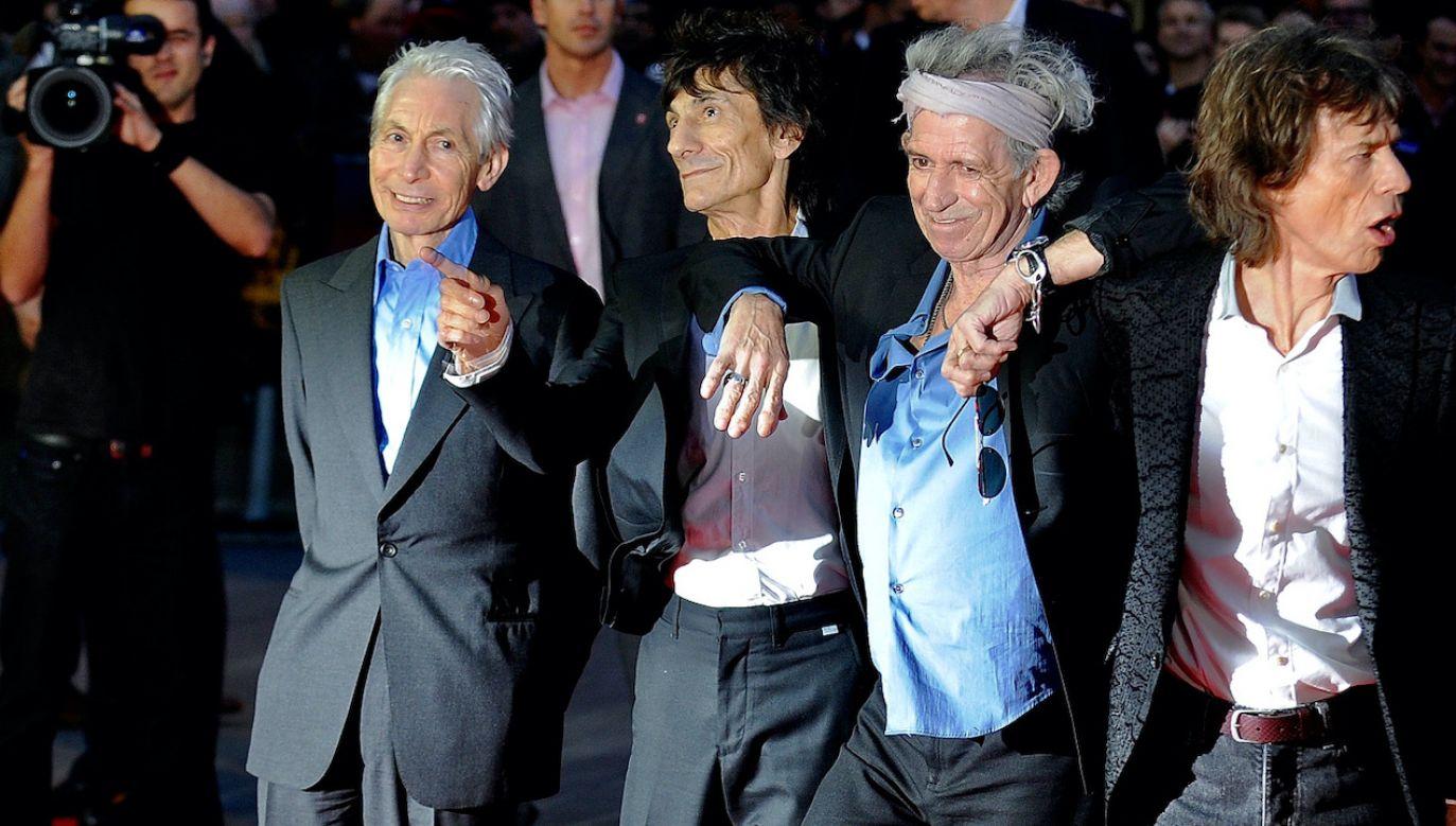 Jaka będzie przyszłość zespołu The Rolling Stones? (fot. PAP/EPA/ANDY RAIN)
