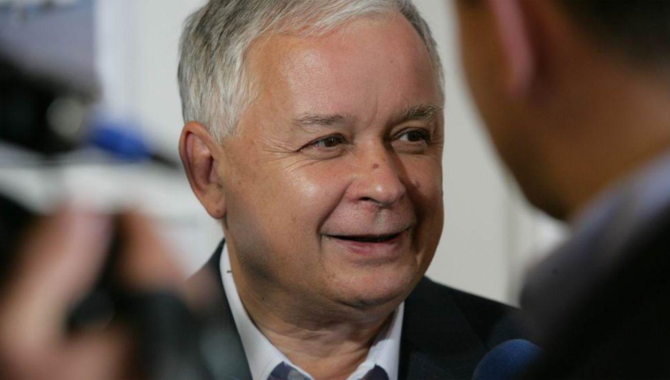 Zmarły tragicznie Lech Kaczyński był przez lata związany z Trójmiastem (fot. KPRP)
