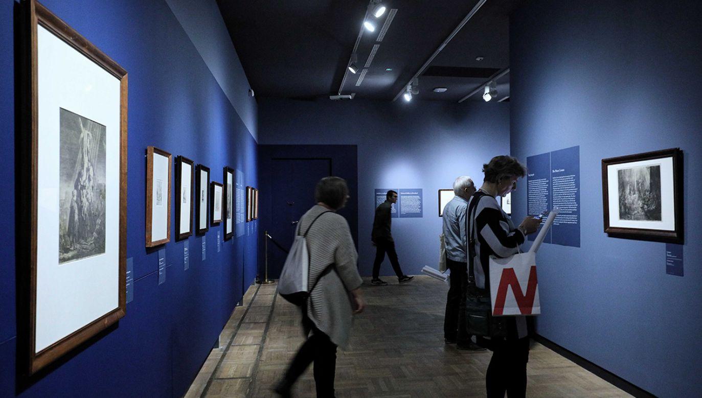 Dochód z aukcji zostanie przekazany w całości na rzecz Muzeum Narodowego w Warszawie (fot. arch. PAP/Paweł Supernak)