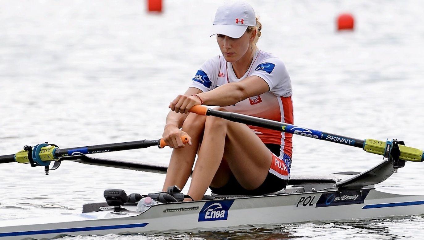 Medalistka mistrzostw Europy nie wie, jak będzie wyglądała jej przyszłość (fot. arch.PAP/Jakub Kaczmarczyk)