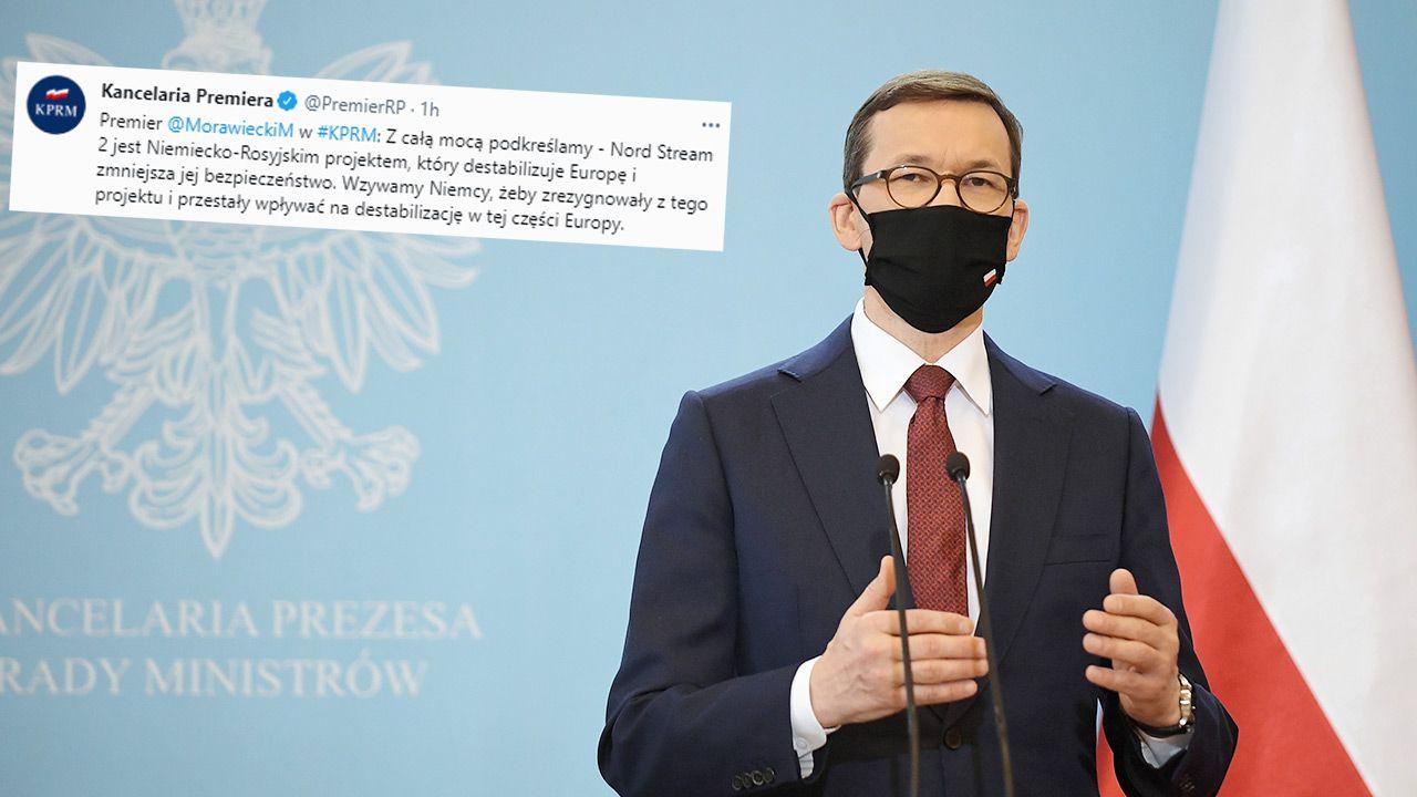Premier Mateusz Morawiecki (fot. PAP/Marcin Obara)