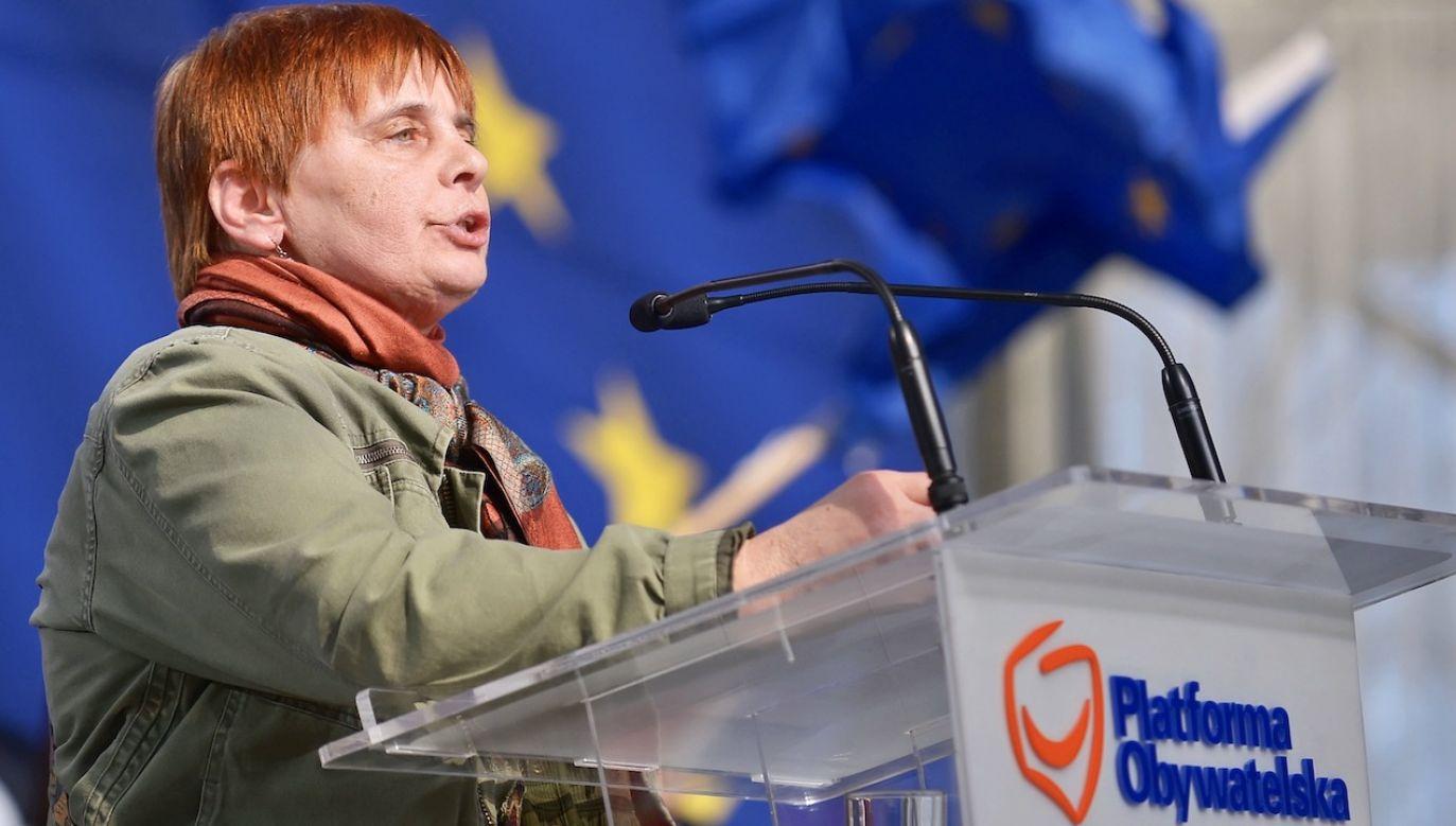 Europosłanka podała pięć powodów, dlaczego zagłosuje na  Trzaskowskiego (fot. arch.PAP/Marcin Obara)
