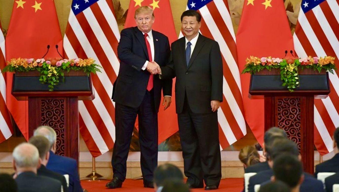 USA przegrywa w każdym układzie wojnę z Chinami na Pacyfiku – taka wiadomość gruchnęła wczoraj w mediach (fot. Kyodo News Stills via Getty Images)