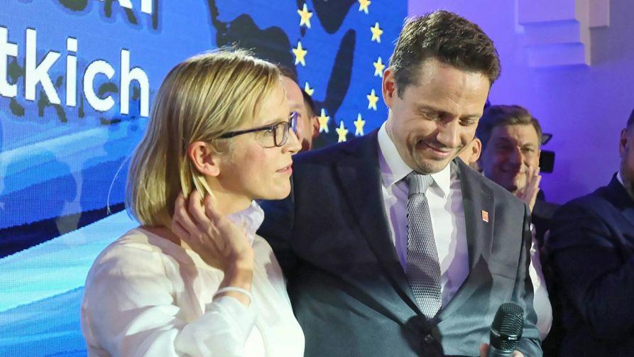 Rafał Trzaskowski i Małgorzata Trzaskowska (fot. PAP/Leszek Szymański)