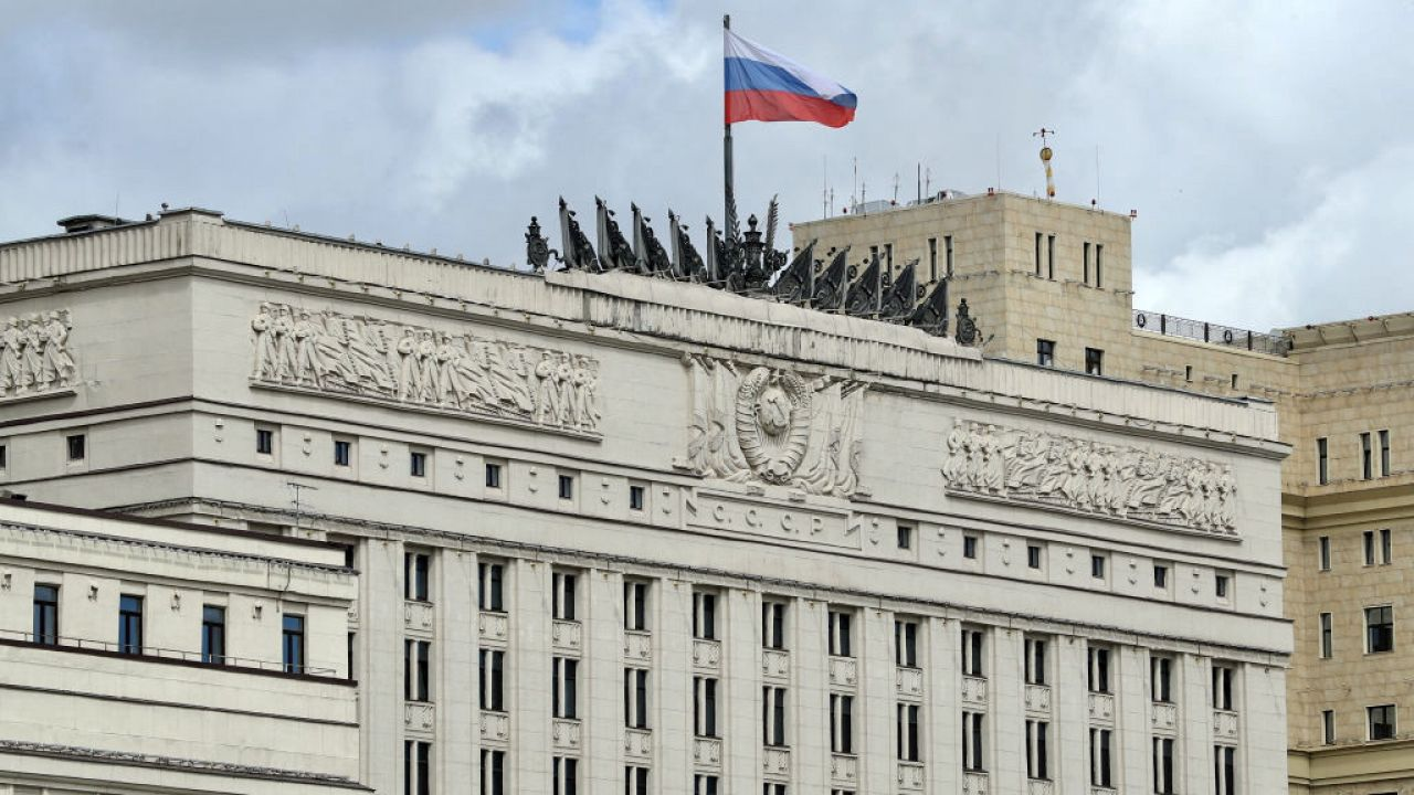 Budynek Ministerstwa Obrony (fot. M.Tereshchenko\TASS\Getty Images)