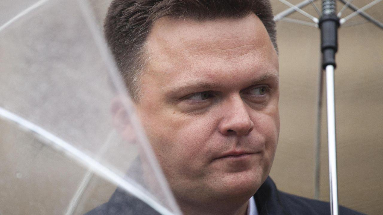 Szymon Hołownia (fot. Maciej Luczniewski/NurPhoto via Getty Images)