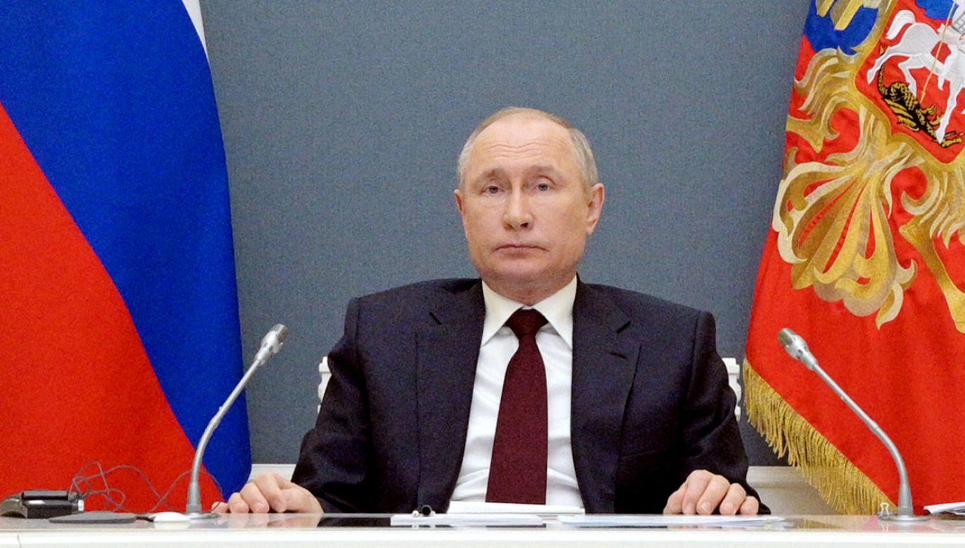 Prezydent Rosji Władimir Putin (fot. Alexei Druzhinin\TASS via Getty Images)