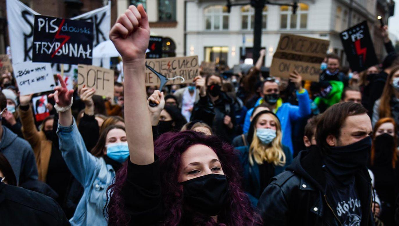 Protesty trwają od piątku (fot. Omar Marques/Getty Images)