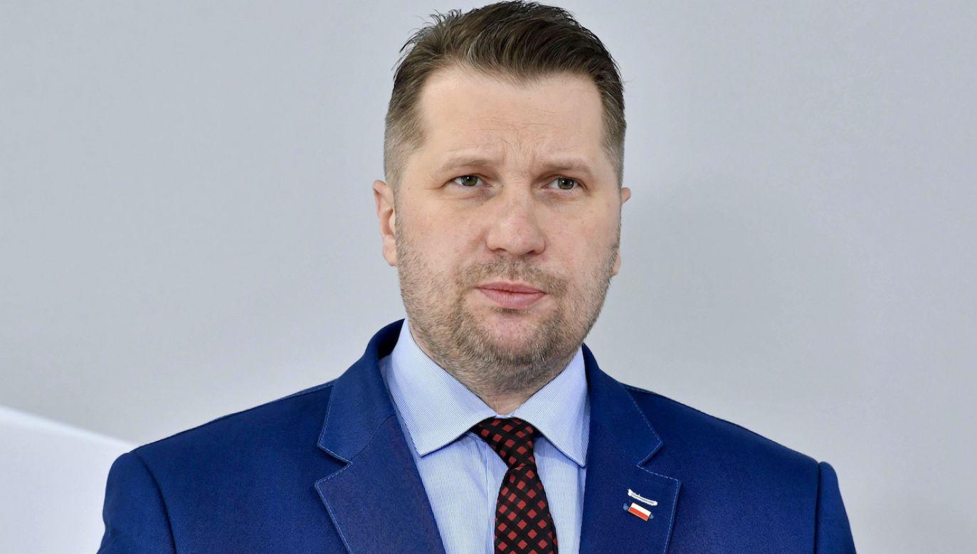 Minister Czarnek o końcu szkolnego lockdownu (fot. arch.PAP/Radek Pietruszka)