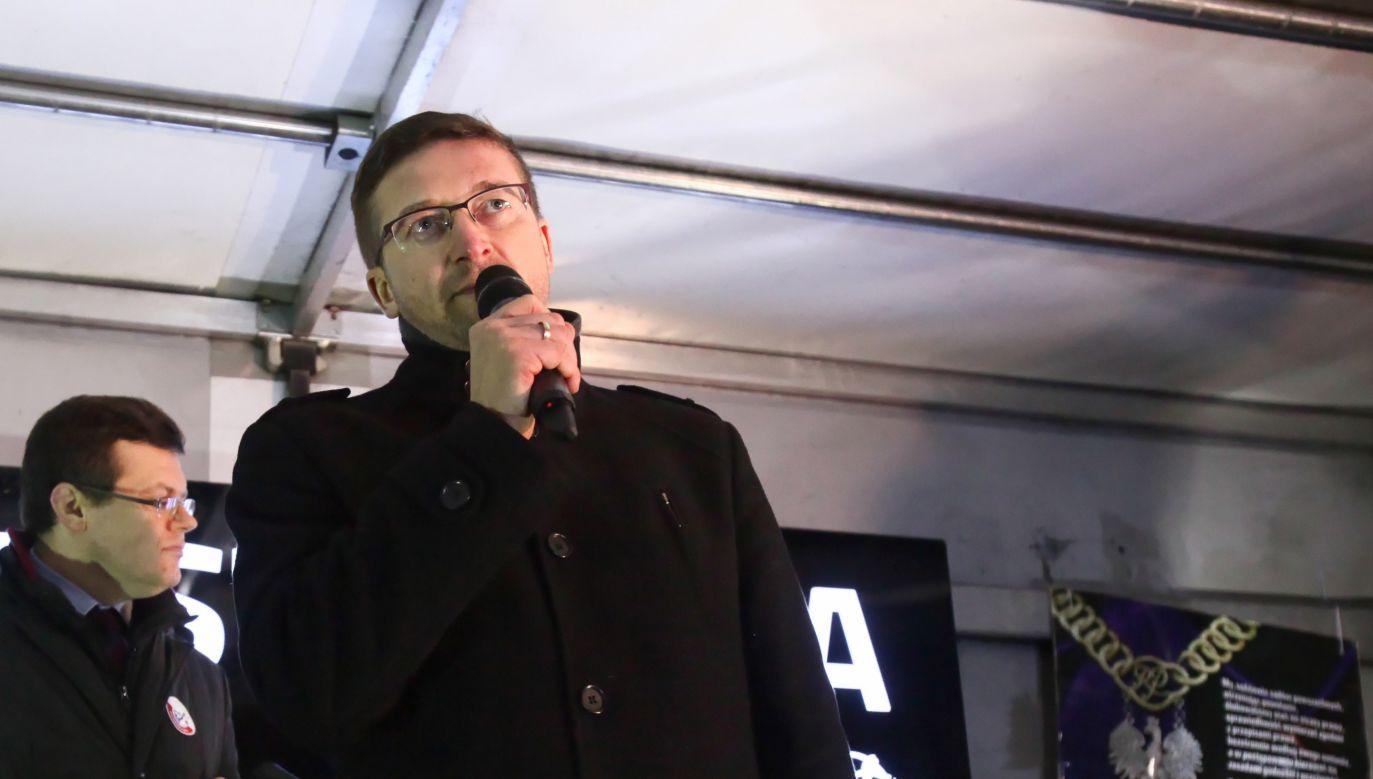 Wobec sędziego Juszczyszyna toczy się postępowanie dyscyplinarne (fot. PAP/Mateusz Marek)