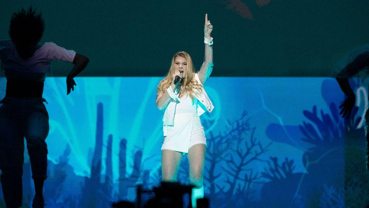 """Natomiast Maltanka Michela określa samą siebie jako """"przeciętną nastolatkę"""", jednak takie z pewnością nie znajdują się w finale Eurowizji! (fot. Andres Putting/EBU)"""
