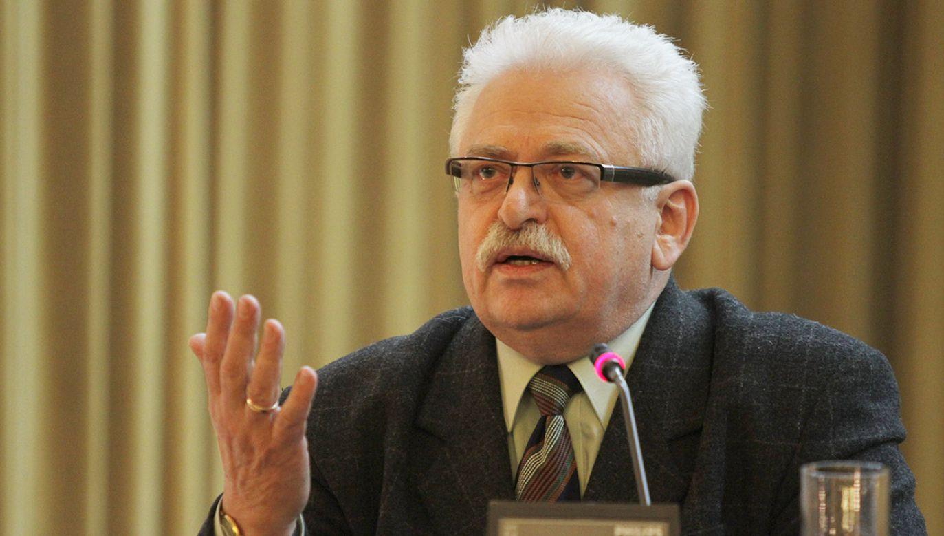 Znam Mariana Banasia od lat – przyznaje Romuald Szeremietiew (fot. arch.PAP/Bartłomiej Zborowski)
