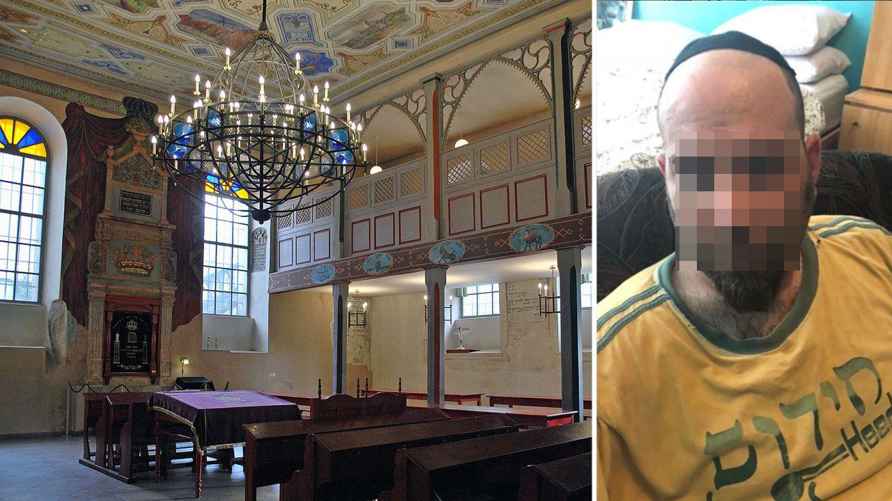 Według amerykańskiego polityka i awanturującego się w synagodze amerykanina, policjanci pobili go i znieważyli, używając nazistowsich gestów (fot. pl.m.wikipedia.org/fb/Dov Hikind)