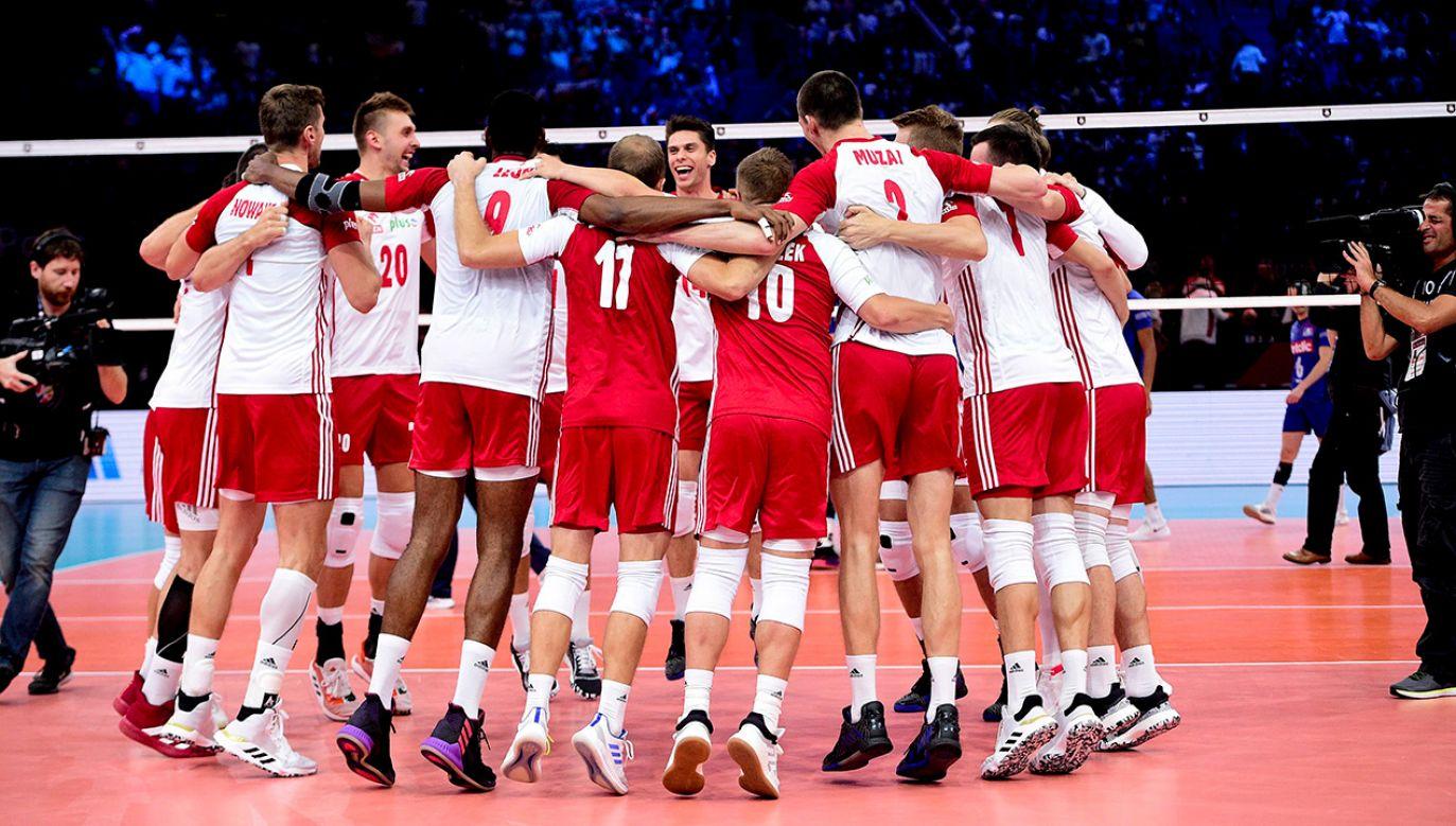 Dzięki wygranej Polacy umocnili się na drugim miejscu w Pucharze Świata (fot. PAP/Panoramic)