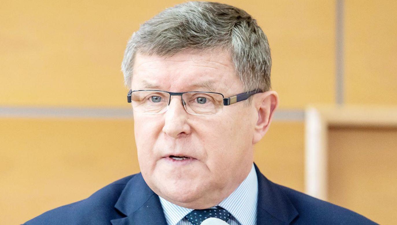 Zbigniew Kuźmiuk w mocnych słowach skomentował postawę części polskich europosłów (fot. PAP/Tytus Żmijewski)