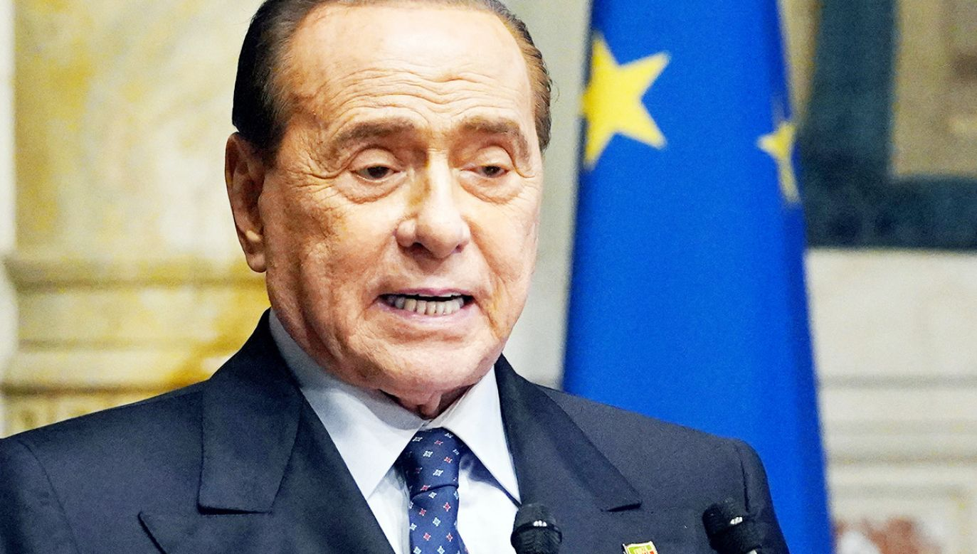 Berlusconi znów w szpitalu (fot. Livio Anticoli/Pool/Insidefoto/Mondadori Portfolio via Getty Images)