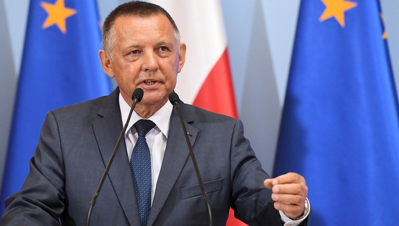 To wielka manipulacja i prowokacja przeciwko mnie i rządowi, któremu miałem zaszczyt służyć – ocenił prezes NIK Marian Banaś (fot. arch.PAP/Radek Pietruszka)