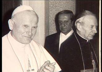 Jan Paweł II i Prymas Stefan Kardynał Wyszyński