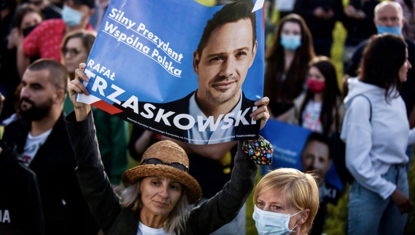 Rafał Trzaskowski przegrał II turę wyborów prezydenckich (fot. Omar Marques/Getty Images)