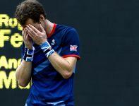 Wielka radość Murraya po pokonaniu Federera przed własną publicznością (fot. PAP/EPA)