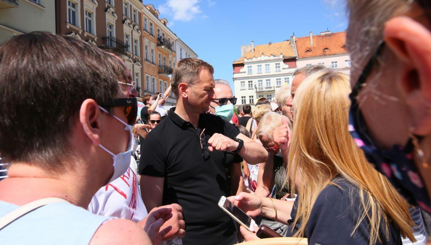 Wybory prezydenckie 2020. Poseł PO Sławomir Nitras (fot. PAP/Tomasz Wojtasik)