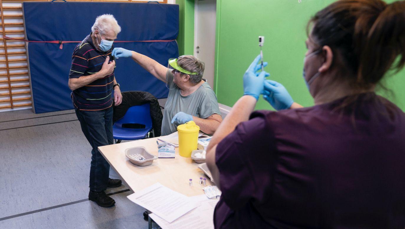 – Paszport szczepionkowy byłby narzędziem dla organizatorów festiwali w Danii (fot. PAP/EPA/CLAUS FISKER)
