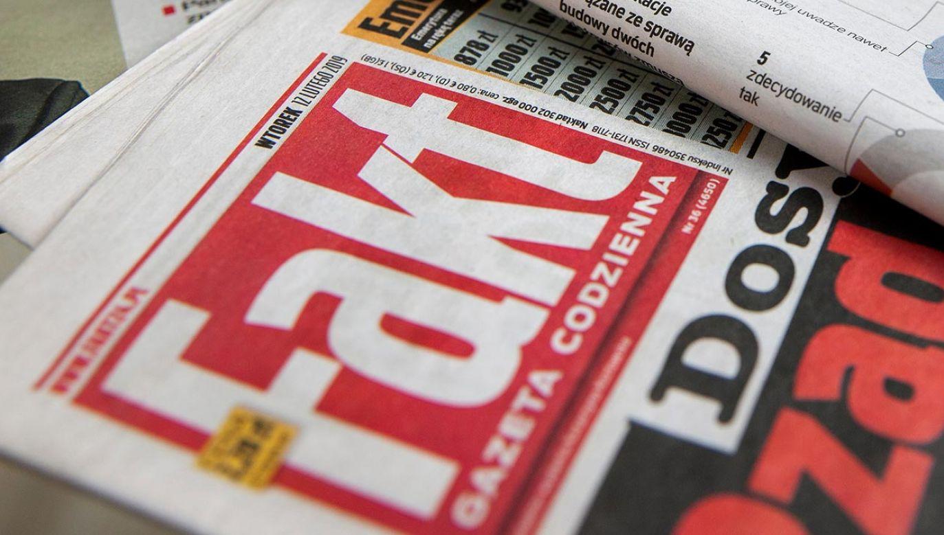 List protestacyjny dostarczono do warszawskiej siedziby Ringier Axel Springer Polska (fot. Shutterstock)