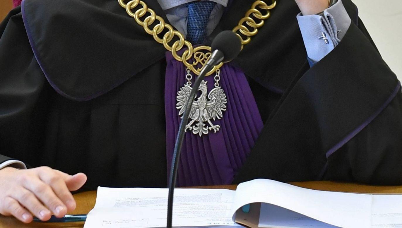7 czerwca br. Sąd Dyscyplinarny w Białymstoku podjął uchwałę o zezwoleniu na pociągnięcie sędziego Janowskiego do odpowiedzialności karnej (fot. arch. PAP/Marcin Bielecki)