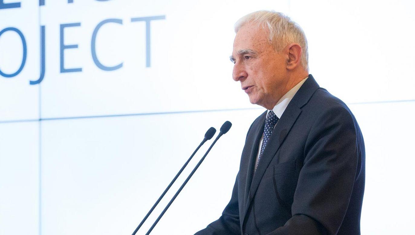Piotr Naimski (fot. Forum/ Mateusz Wlodarczyk)