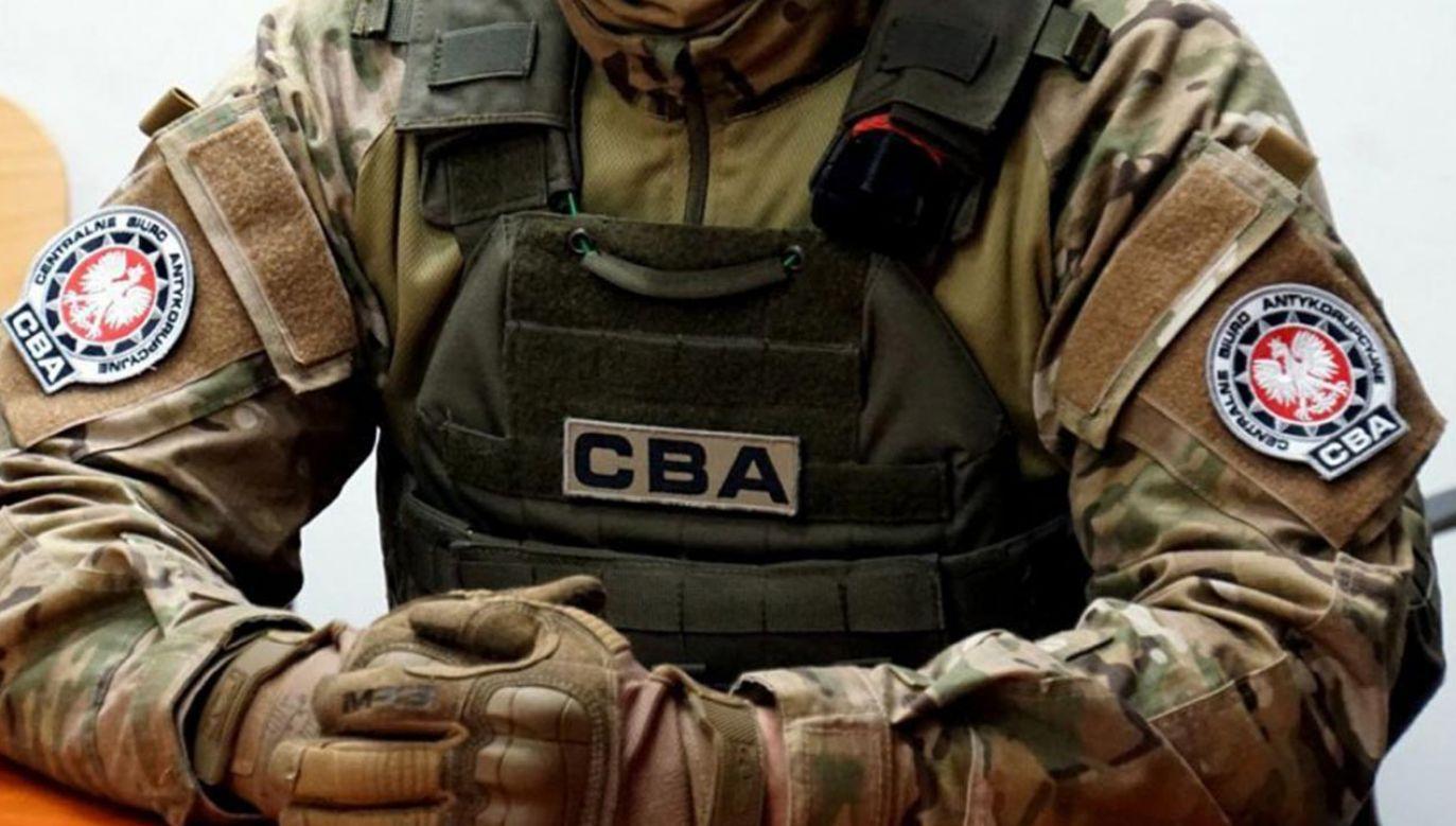 Zatrzymany nie trafił do aresztu (fot. CBA)