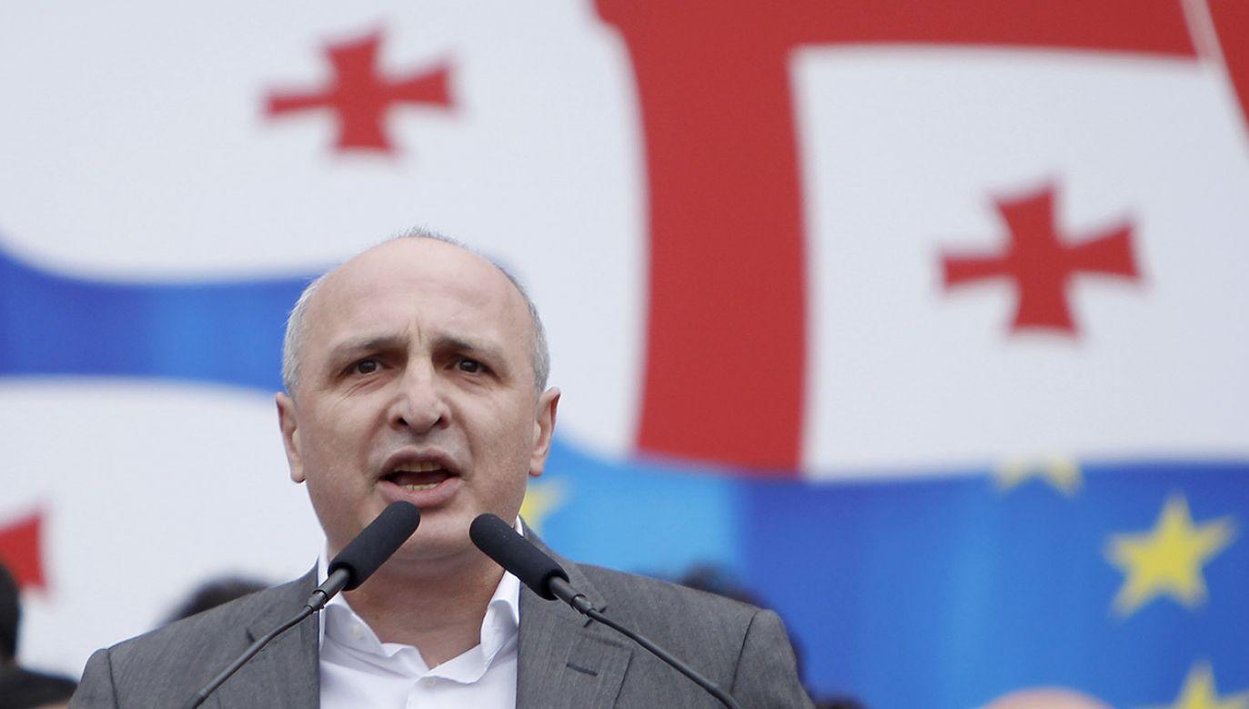 Premier Gruzji Wano Merabiszwili przeprowadził reformę policji, która wyeliminowała z gruzińskiego życia społeczno-politycznego wpływowych mafijnych bossów (fot. REUTERS/David Mdzinarishvili)